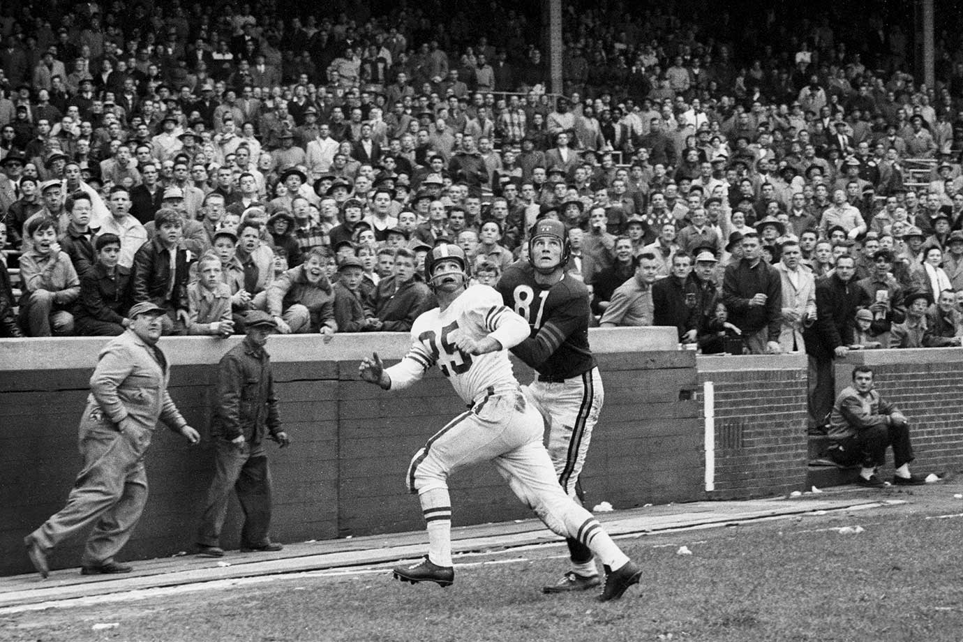 Oct. 4, 1955 — Baltimore Colts vs. Chicago Bears