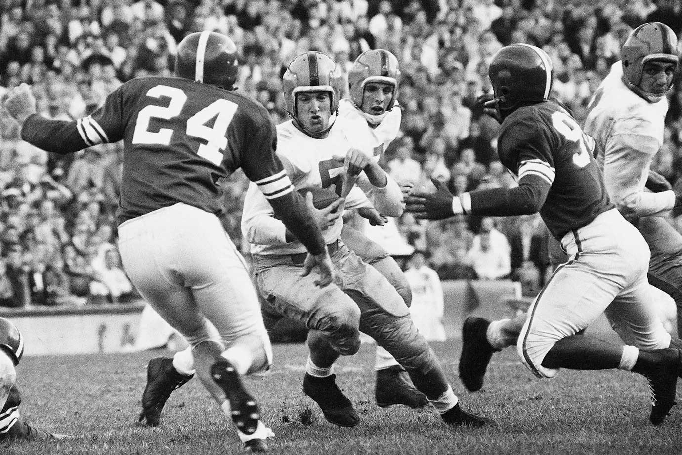 Oct. 15, 1955 — Notre Dame vs. Michigan State