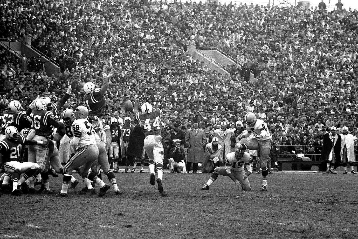 Nov. 6, 1960 — Green Bay Packers vs. Baltimore Colts