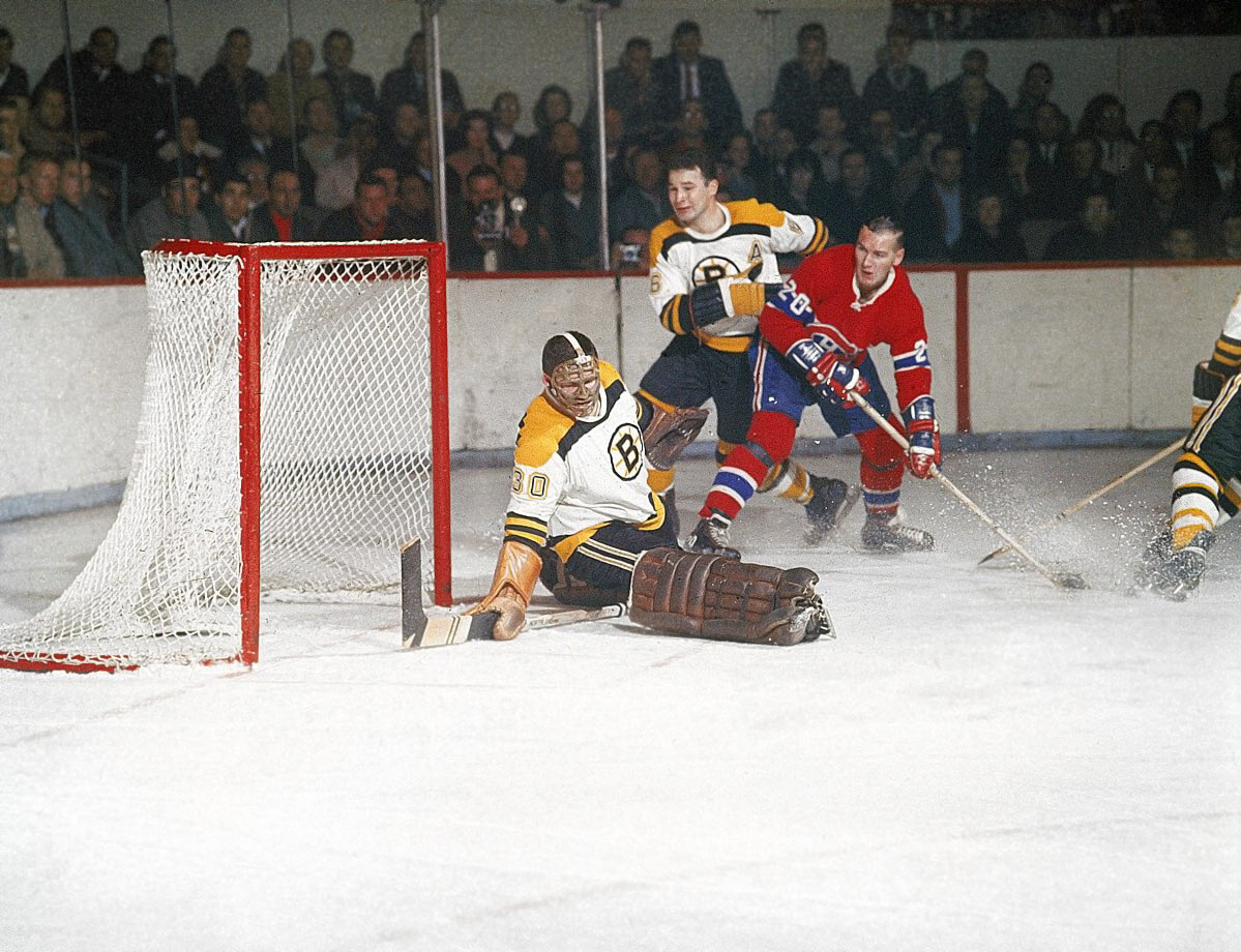 Bernie Parent began his NHL career with the Boston Bruins, posting an unimpressive 15-32-5 record through two seasons before being claimed by the Philadelphia Flyers in the Expansion Draft of 1967.