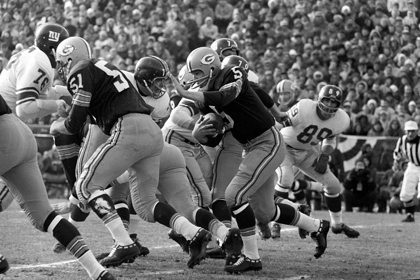 Dec. 31, 1961 (NFL Championship) — Green Bay Packers vs. New York Giants