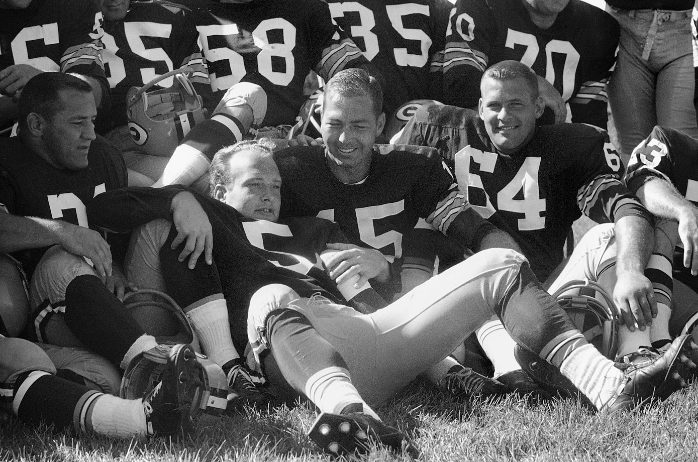 "Regarding Paul Hornung, Bart Starr once said, ""[Max McGee] and Hornung were perfect teammates on the road. Neither liked curfew. But what clutch performers. They were unbelievable."" (Text credit: Shannon Carroll)"