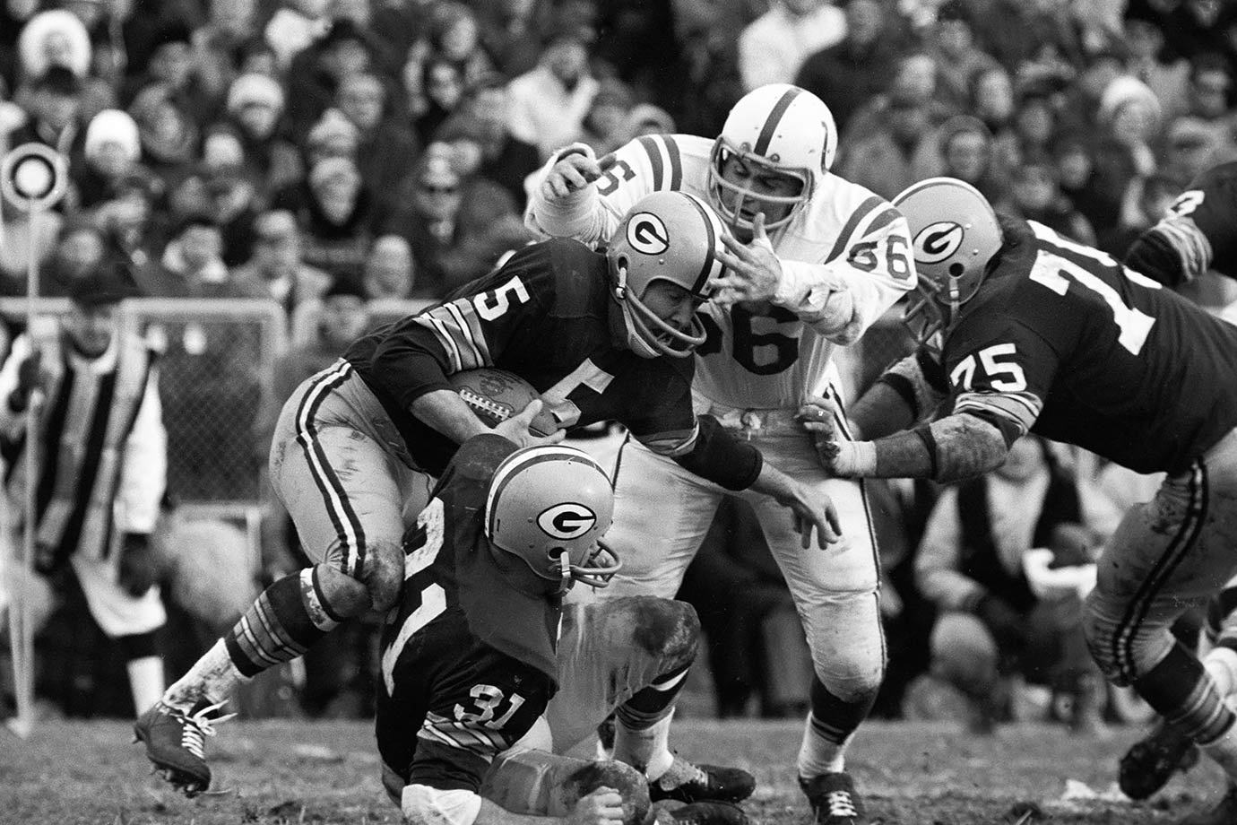 Dec. 26, 1965 (Western Conference playoff) — Green Bay Packers vs. Baltimore Colts