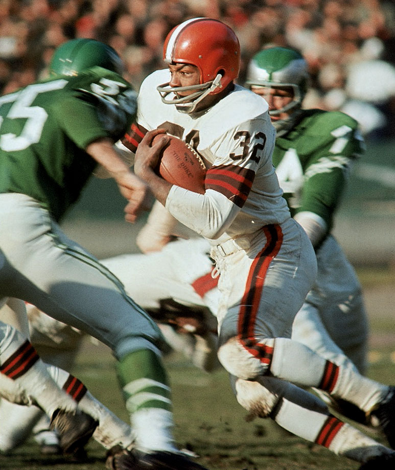 Brown's final season in 1965 was one of his best. He rushed for 1,544 yards, his second-highest, scored a career-best 21 touchdowns and earned his third MVP award. The Browns repeated as Eastern Conference champions but lost the NFL title game, 23-12, to Green Bay. Brown last put on a uniform in the Pro Bowl, where his record-tying three touchdowns led the East to a 36-7 rout of the West.