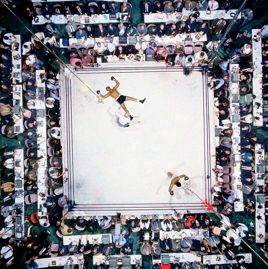 High point: Ali's brilliant performance against Williams some would call it the finest of his career was witnessed by an Astrodome crowd of 35,460, a record at the time for an indoor fight. Leifer's overhead shot was a knockout in its own right.