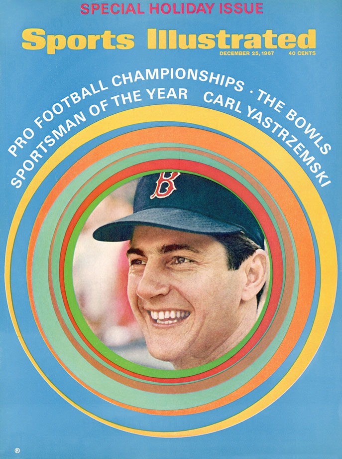 Carl Yastrzemski is selected as SI's Sportsman of the Year in 1967.
