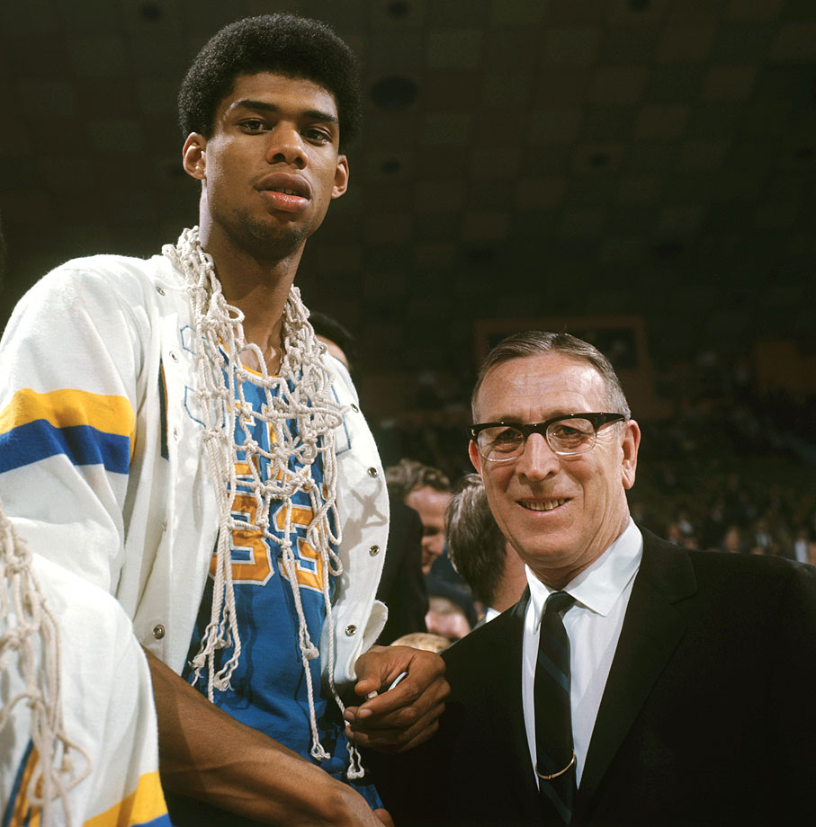 with John Wooden