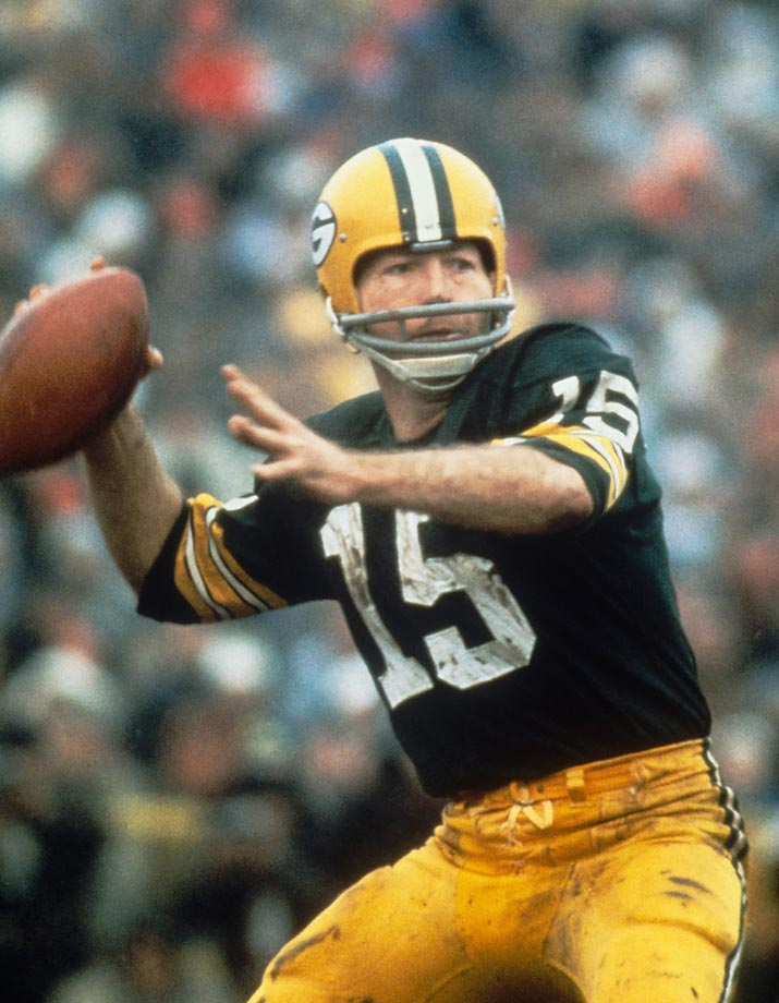 After being named Super Bowl I MVP, Bart Starr was given the keys to a Dodge Charger. But he petitioned the state of Wisconsin to raffle the car and donate the proceeds to the Rawhide Boys Ranch, which offers programs for at-risk youth. (Text credit: Shannon Carroll)