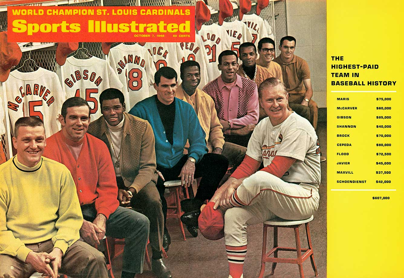 October 7, 1968 Sports Illustrated cover