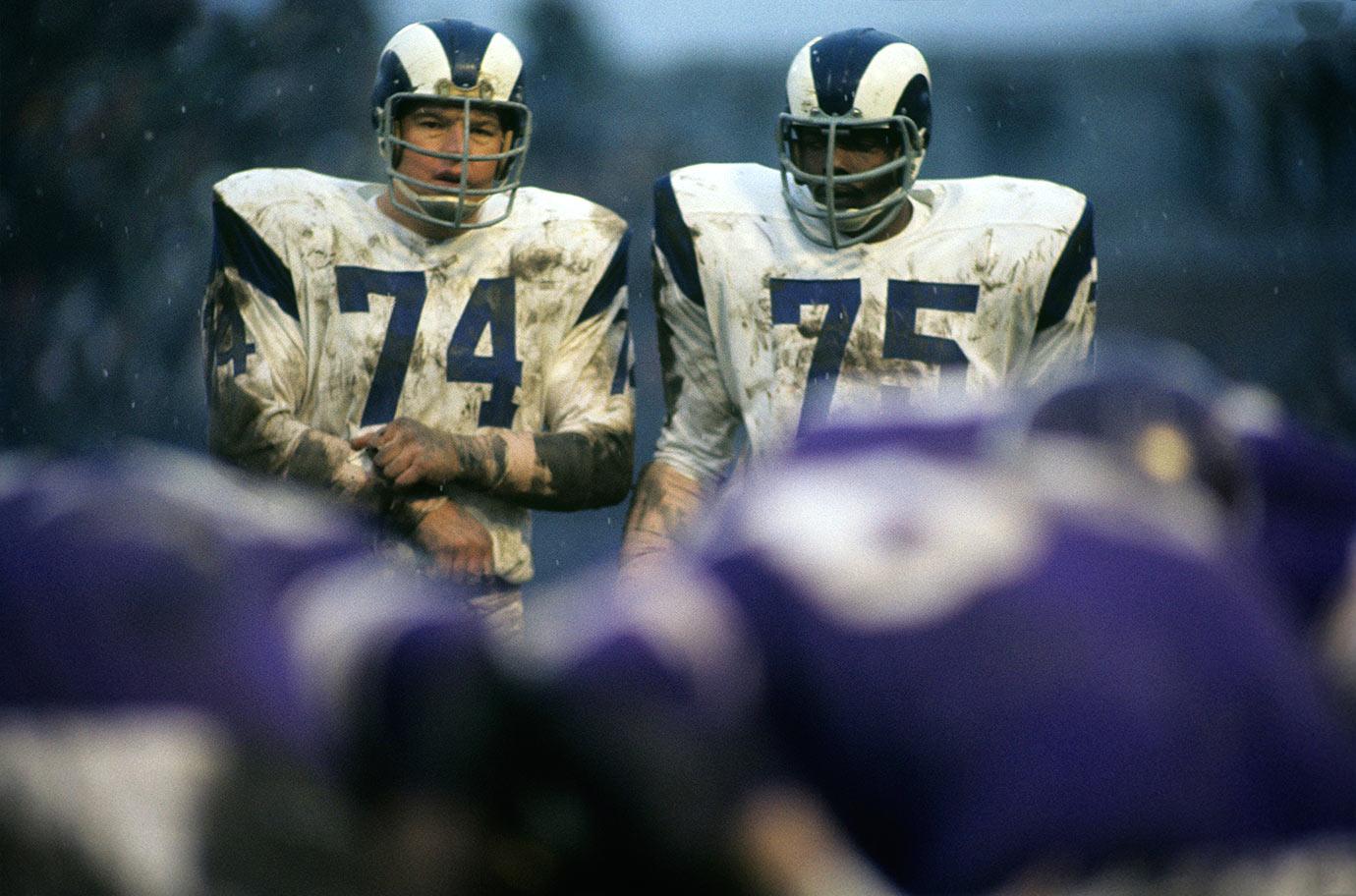 Dec. 1, 1968 — Los Angeles Rams vs. Minnesota Vikings
