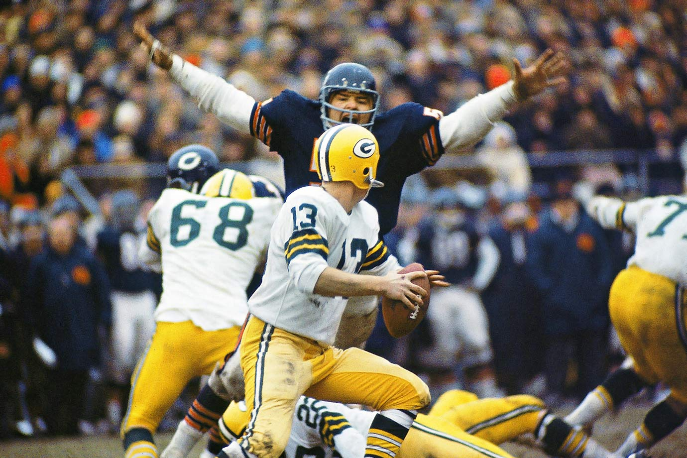 Dec. 1968 — Chicago Bears vs. Green Bay Packers
