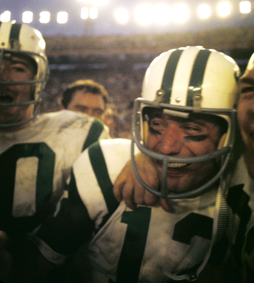 "The memorable moment actually came three nights earlier, during a festive event at the Miami Touchdown Club. Joe Namath, whose Jets were 18-point underdogs, had a few drinks and told the crowd, to its amusement, ""We're gonna win this game. I guarantee it."" Then all he had to do was go out and make it so."