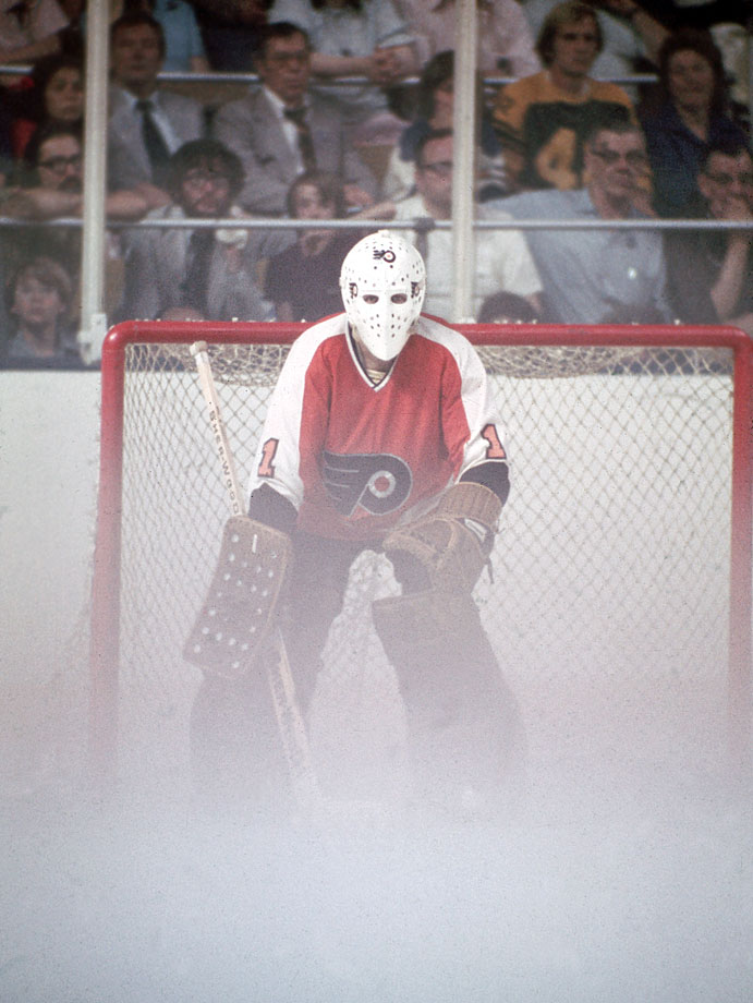 Spliting time with Doug Favell, Bernie Parent recorded a 2.48 GAA with four shutouts and the Flyers finished first in the NHL's West Division in 1967-68.