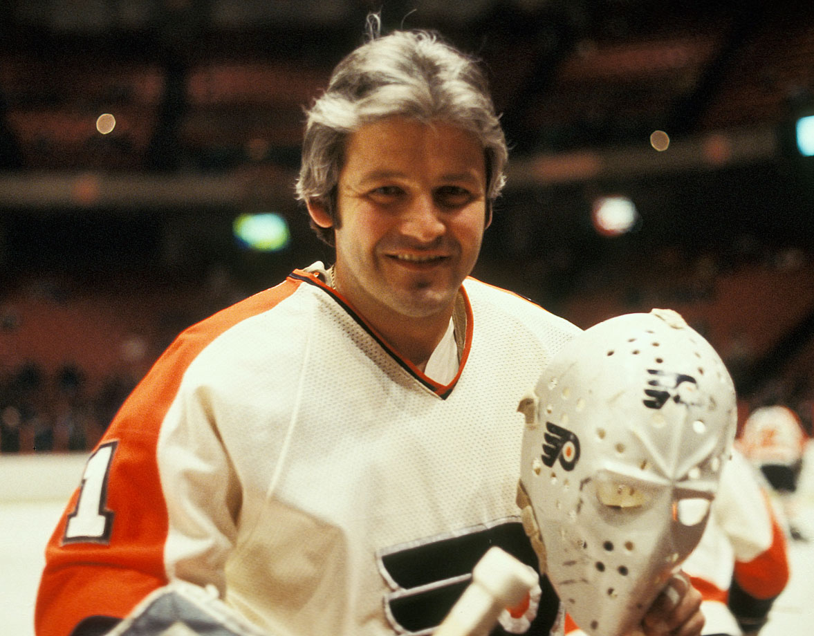 Considered by many to be the last great stand-up goaltender, Bernie Parent suffered a career-ending eye injury after an errant stick entered the right eye hole of his mask in a game against the New York Rangers on Feb. 17, 1979.