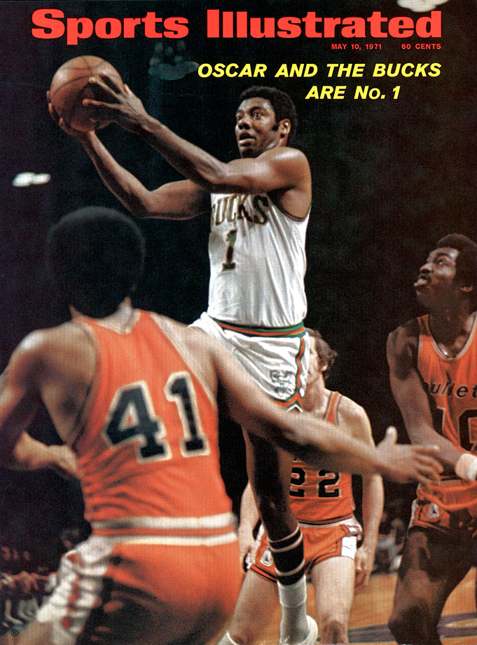 The combination of Robertson and Alcindor was unstoppable as the Bucks went 12-2 in the playoffs and won the NBA title after sweeping the Baltimore Bullets in the 1971 Finals. It was the first championship of Oscar Robertson's career.