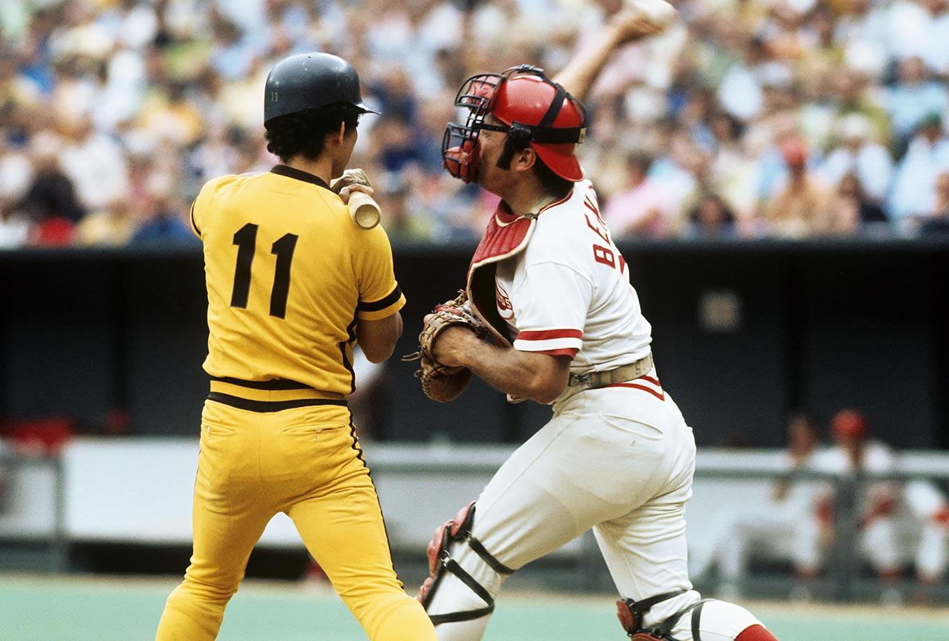Johnny Bench Photos Part - 27: Enzo Hernandez And Johnny Bench