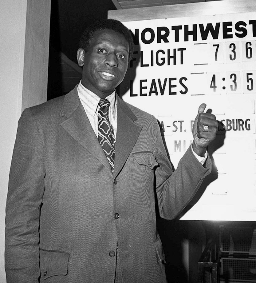 Earl Lloyd also became the NBA's first black assistant coach in 1968 with the Detroit Pistons and later become one of the league's first black head coaches, also with the Pistons.
