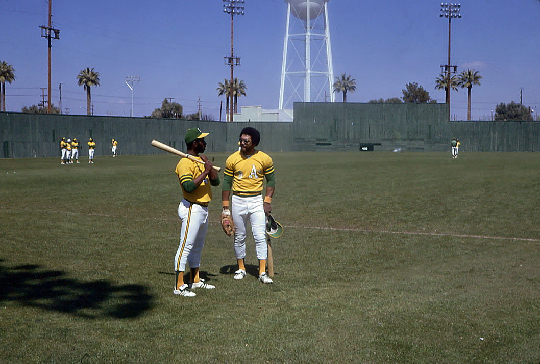 "The fighting A's of the early 1970s may have been the most combative team in modern baseball history. Perhaps their most famous row came when Jackson, tired of being picked on by North, tackled his adversary and the two exchanged punches. Catcher Ray Fosse hurt his neck in the melee and was out for the year. A Baseball Digest article quoted Jackson this way: ""I was wrong...but North has been asking for it."""