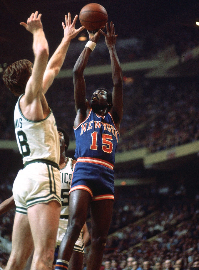 "Earl ""The Pearl"" Monroe and Dave Cowens"