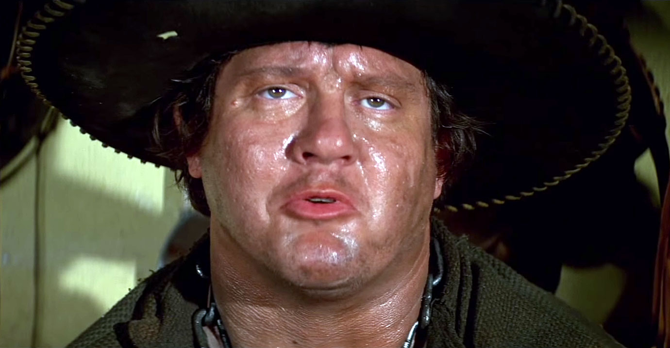 "Alex shall forever be remembered for his role in Mel Brooks's 1974 film Blazing Saddles, in which he played a hulking, dim-witted creature with an indisposition toward equine stand-ins, and one great line: ""Mongo only pawn in game of life."""