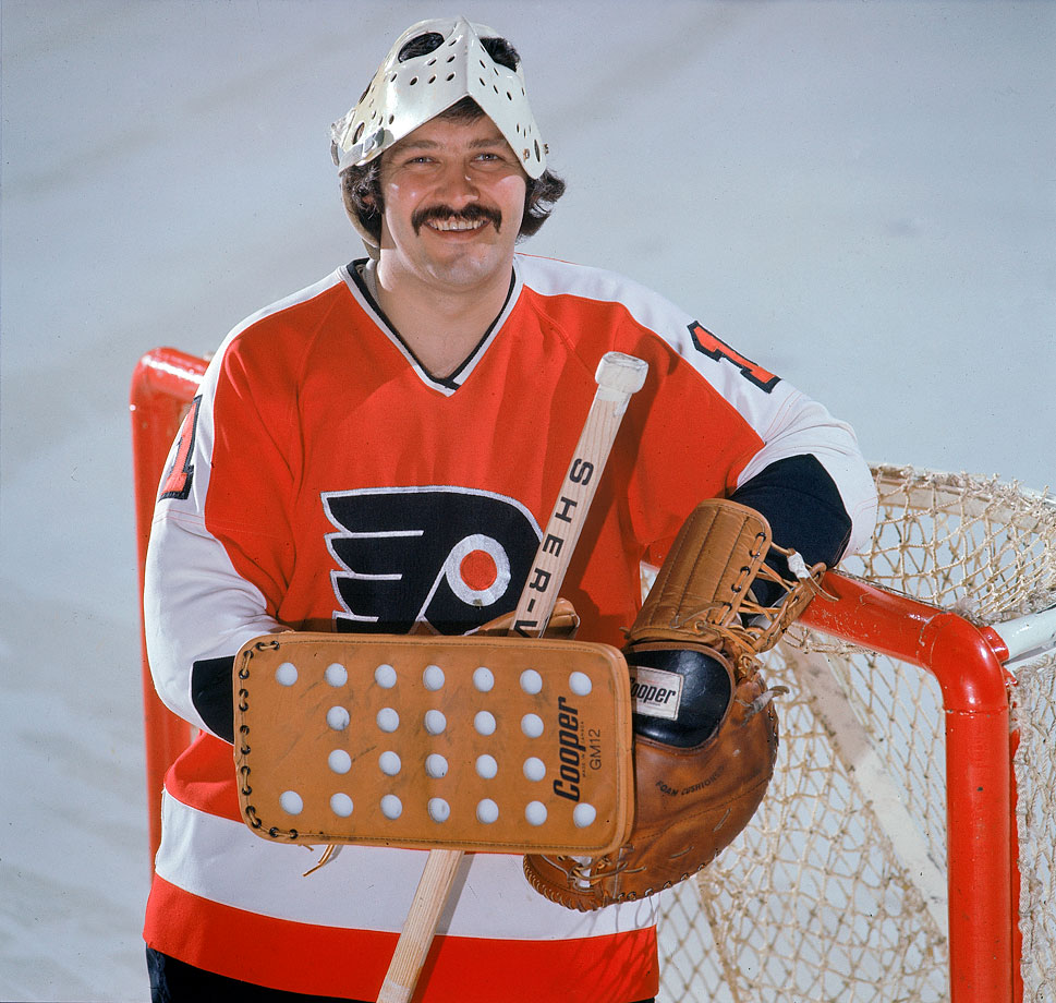 Playing 73 games in a 78 game schedule, Bernie Parent sparkled in leading the league with a 1.89 GAA and 12 shutouts in 1973-74.