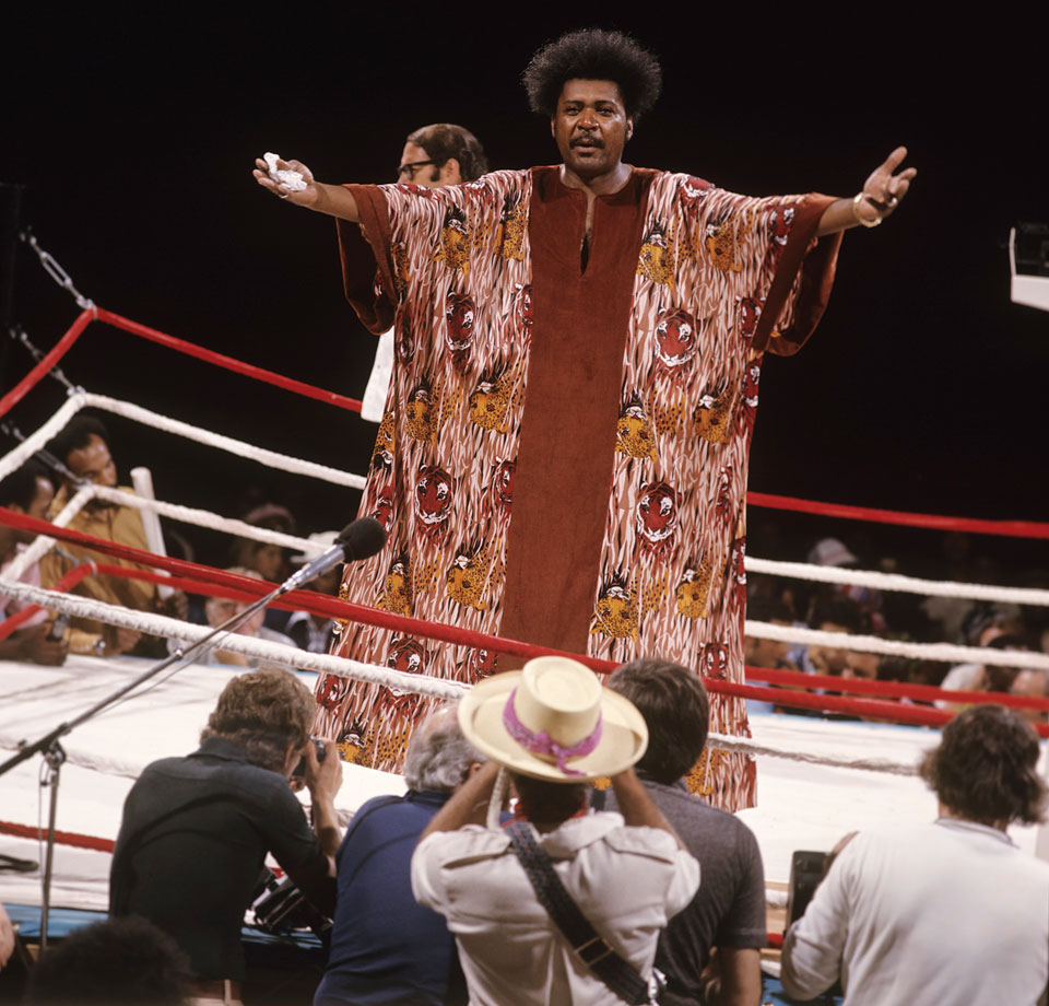 The fight was already a victory for promoter Don King, who had signed each fighter to a $5 million contract.