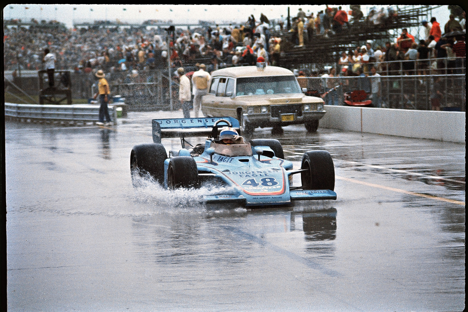 Not to be outdone by Al's two titles, Bobby nabbed his splashy second victory after he was leading on the 174th lap and the race was declared over on account of rain.