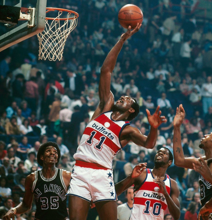 Elvin Hayes averaged 25 points in Games 5-7, and the Spurs suffered a devastating 107-105 loss to the Bullets in the final game of the series. San Antonio was called for seven fouls in the final 3:39 and Washington went on a 10-2 run in the final two minutes.