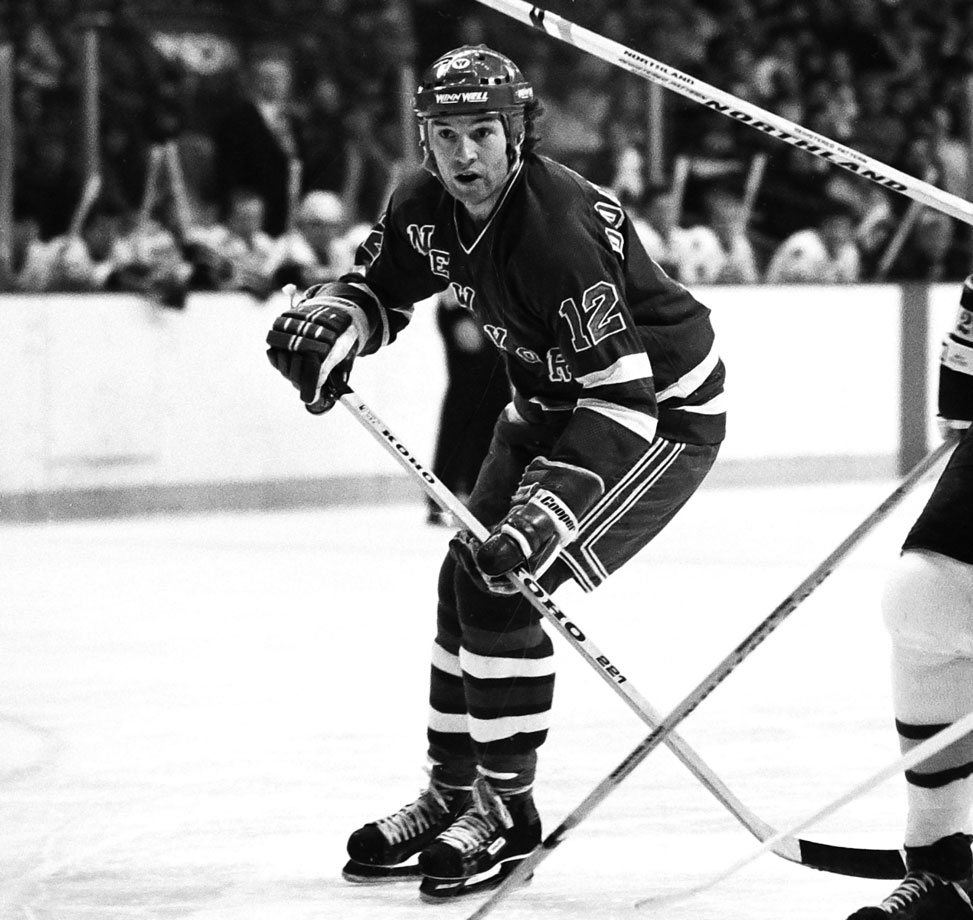 After earning a midseason call-up from AHL New Haven, Maloney found himself skating a wing on New York's top unit alongside Phil Esposito and Don Murdoch. The trio, nicknamed The Mafia Line, played a key role as New York battled through the favored Islanders and on to the Stanley Cup finals. Maloney ended up leading all players with 13 assists and set a rookie scoring record with 20 points in 18 games.