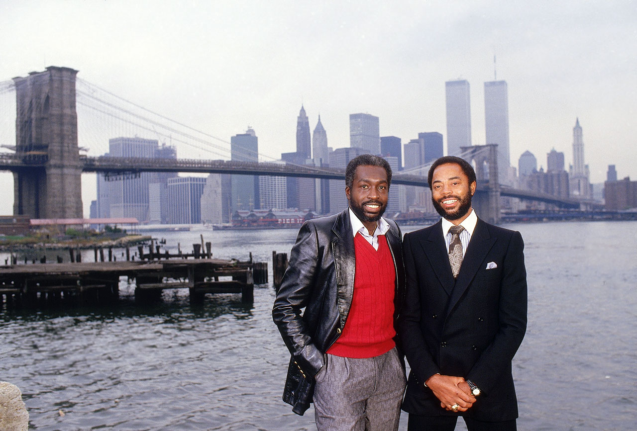 "Earl ""The Pearl"" Monroe and Walt Frazier"
