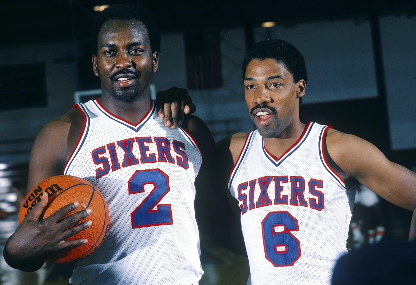 The duo of Dr. J and Moses Malone won the Sixers a championship in the 1982-83 season.