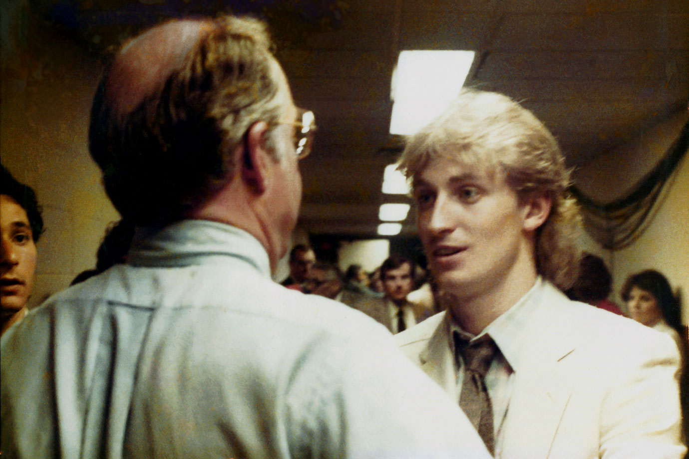 "The Oilers reached their first Stanley Cup Final in 1983, only to be swept by the four-time defending champion New York Islanders. Gretzky congratulated Islanders GM Bill Torrey, who told him, ""Don't worry, kid. You'll be back next year."" Torrey was right. In 1984, Gretzky and the Oilers dethroned the Isles in five games."