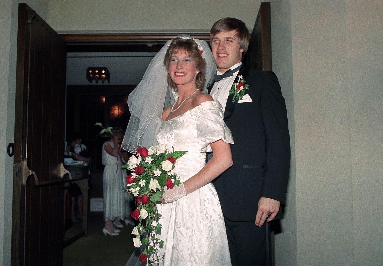 John Elway and Janet Buchan
