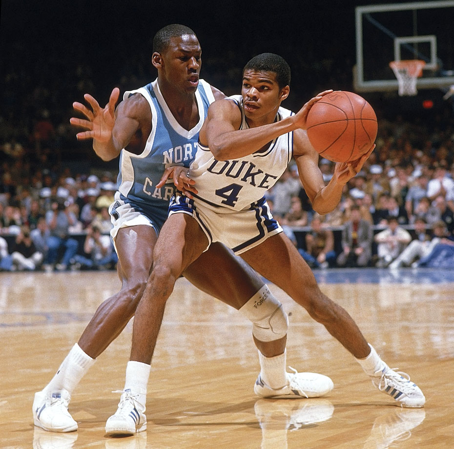 Michael Jordan and Tommy Amaker