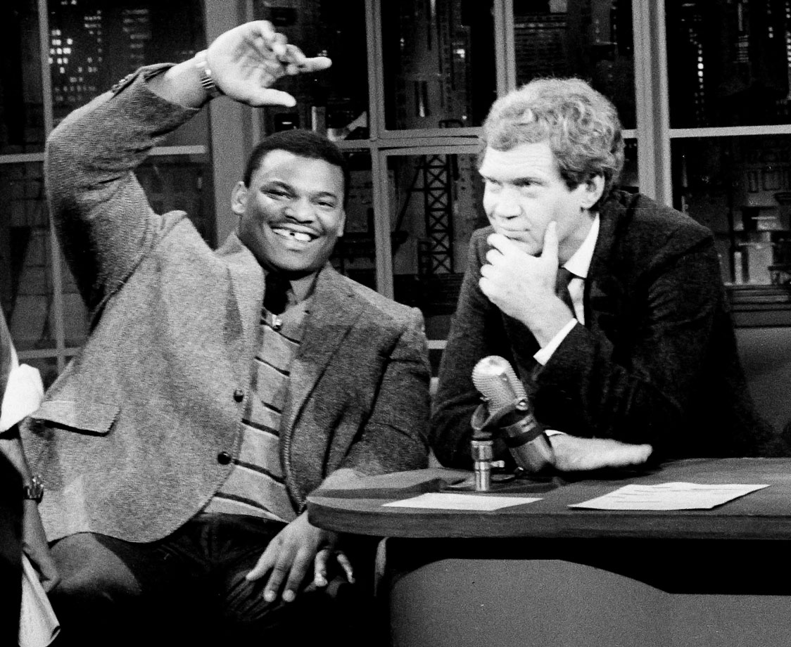 Nov. 11, 1985 — Late Night with David Letterman