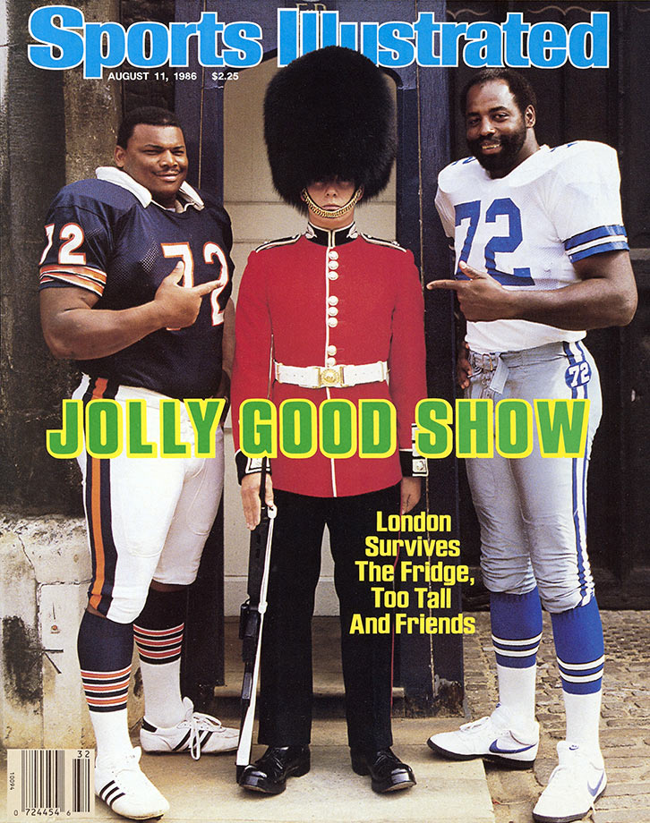 Aug. 11, 1986 Sports Illustrated cover