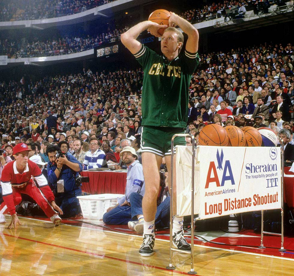Feb. 6, 1988 — NBA All-Star Three Point Contest