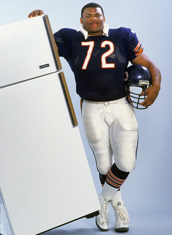 Image result for william perry the fridge