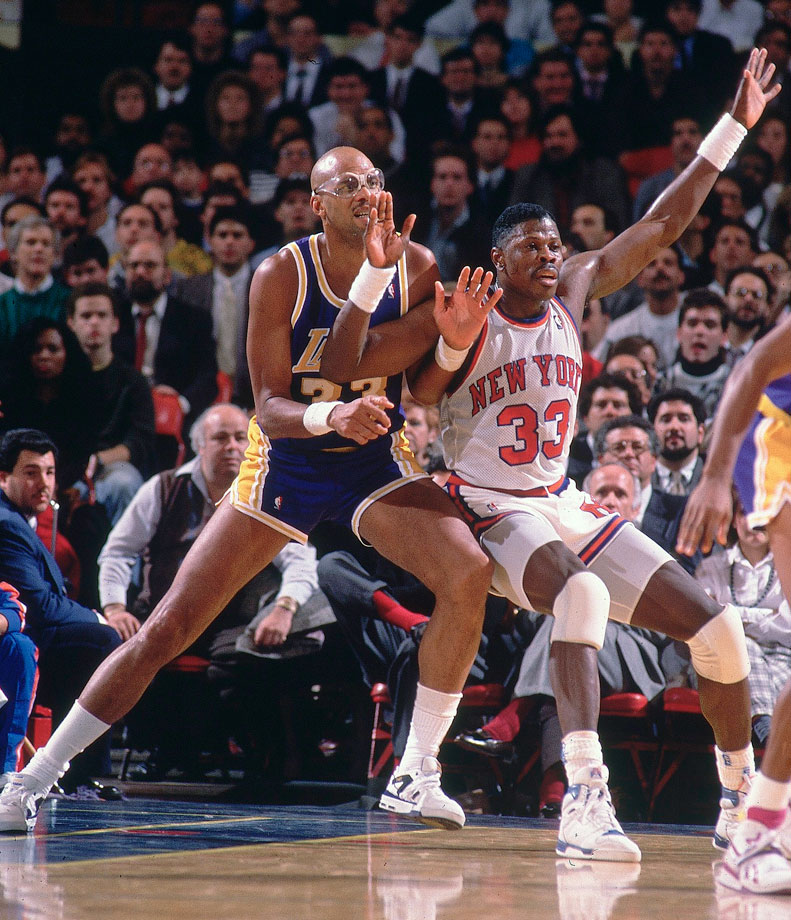 with Patrick Ewing