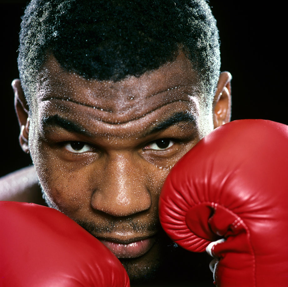 Arguably one of the hardest hitting boxers in history, former heavyweight champion Mike Tyson successfully defended the championship title nine times, finishing his career 50-6 with 44 wins by knockout.