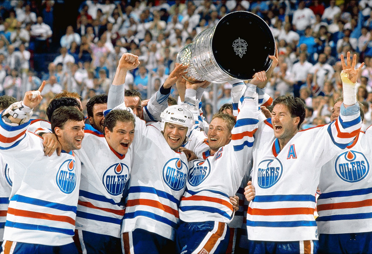 Image result for wayne gretzky stanley cup wins