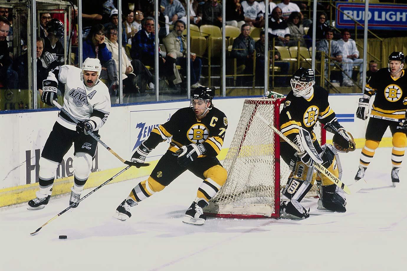 Feb. 15, 1989 — Boston Bruins vs. Los Angeles Kings