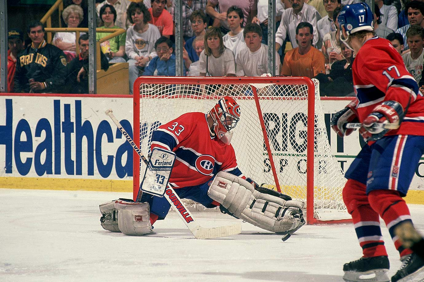 April 27, 1990 — Adams Division Final, Game 5 (Canadiens vs. Bruins)