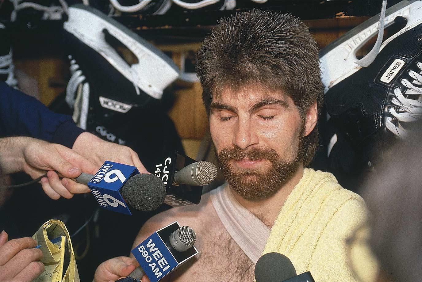 May 18, 1990 — Boston Bruins vs. Edmonton Oilers, Stanley Cup Finals, Game 2