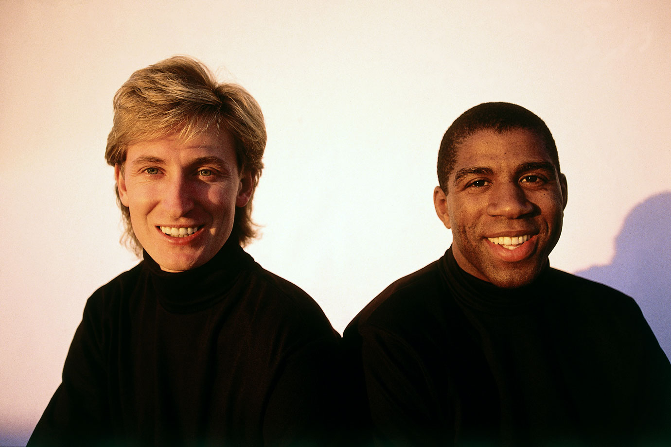 Gretzky's trade from the Oilers to the Los Angeles Kings in August 1988 was a landmark event for hockey in the United States. The Great One was welcomed to L.A. by Lakers superstar Magic Johnson.