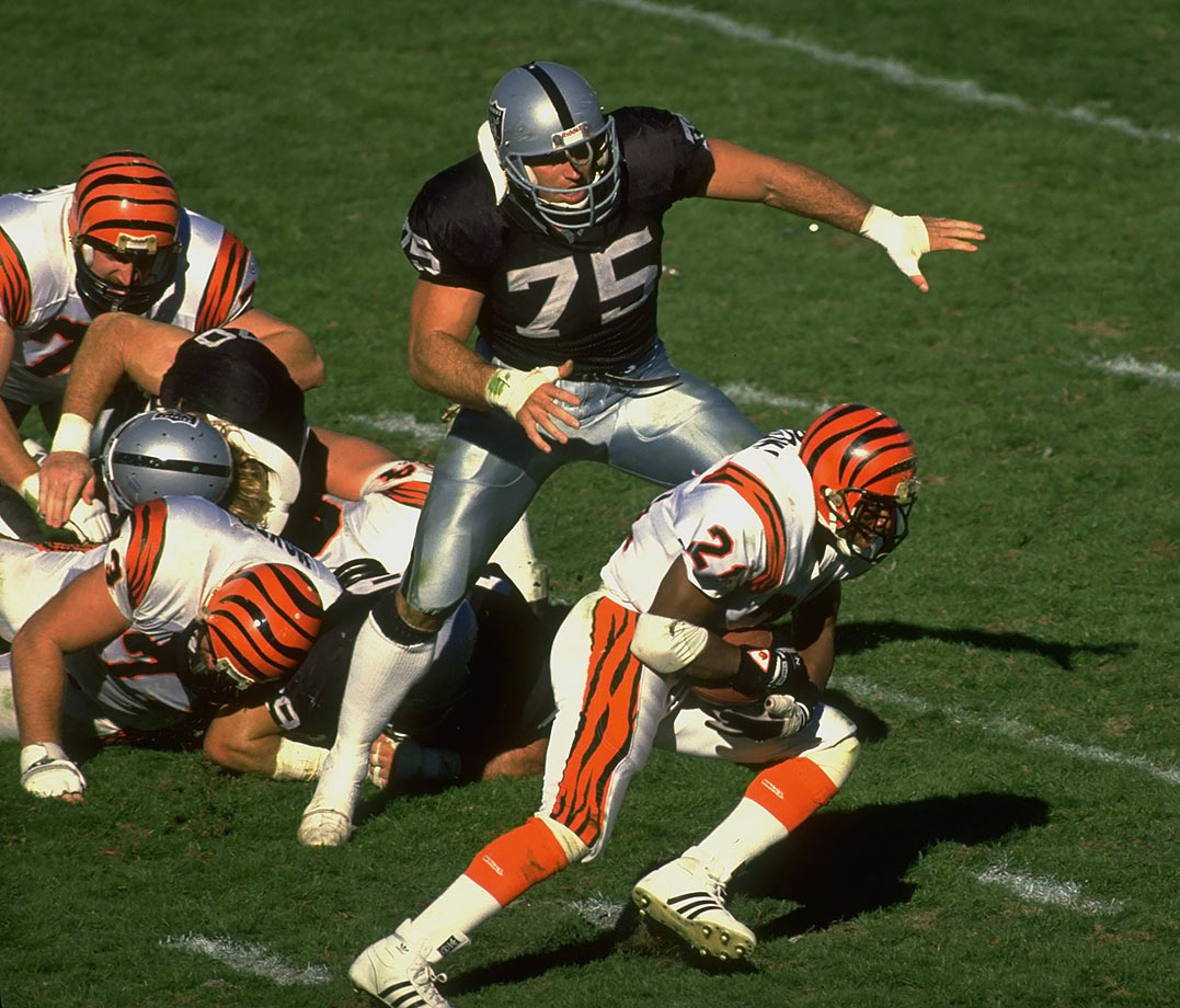 Jan. 13, 1991 — AFC Divisional playoffs: Los Angeles Raiders vs. Cincinnati Bengals