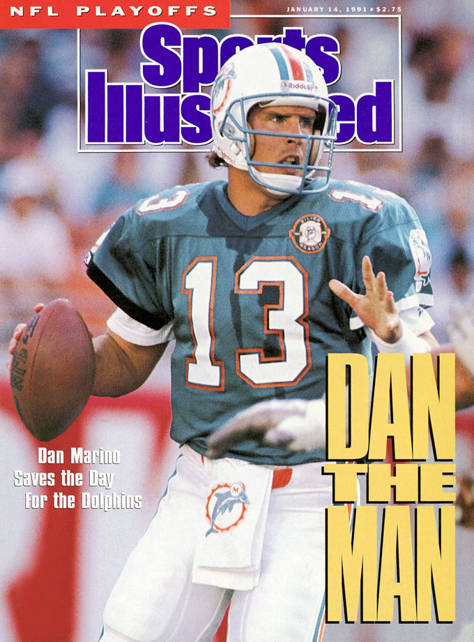 Dan Marino appears on the Jan. 14, 1991 cover of Sports Illustrated.