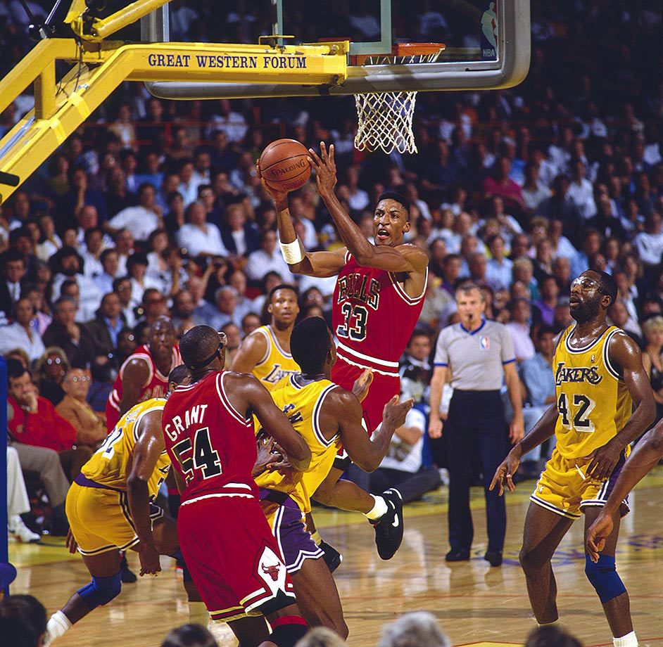 June 9, 1991 — NBA Finals, Game 4