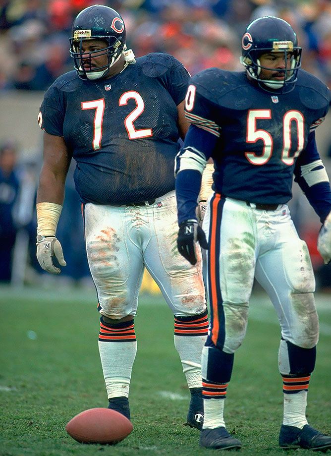 Nov. 3, 1991 — Chicago Bears vs. Detroit Lions