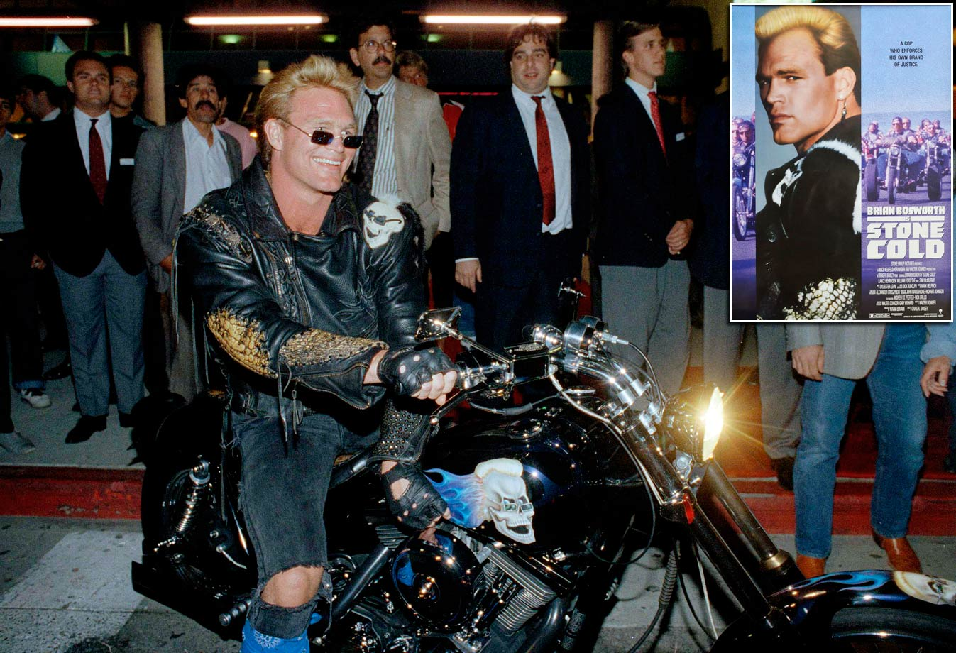"After his NFL days ended, The Boz invaded Hollywood. His first movie, ""Stone Cold,"" was widely panned by critics."